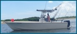 Captain Corey of On The Hook Charters in Daytona Beach