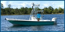 Captain Brandy's fishing charter boat in Pensacola, Florida