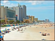 Daytona Beach is a great place to charter a boat or rent a jet ski