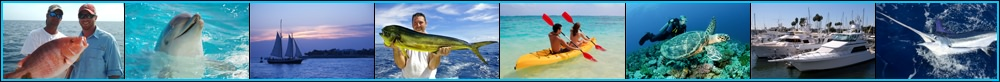 Pensacola, Florida private inshore, offshore and deep sea fishing trips and public walk-on fishing boats